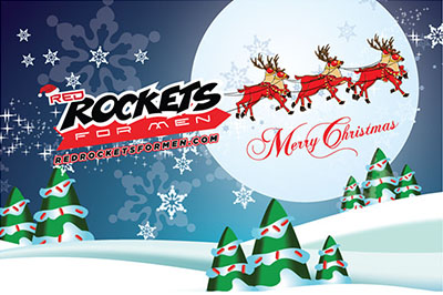 Red Rockets Merry Christmas
